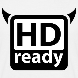 Weiß HD ready © T-Shirts - Men's T-Shirt