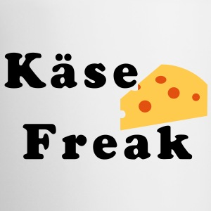 Käse Freak - Tasse, Griff links - Tasse