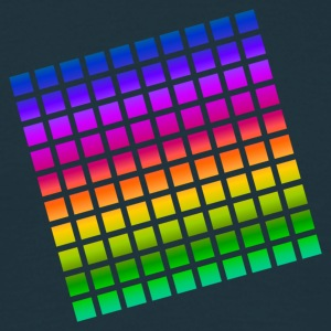 color tiles T-Shirts - Men's T-Shirt