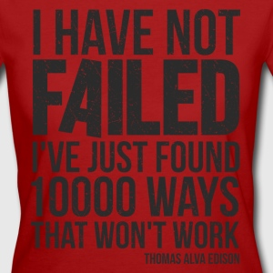 failure T-Shirts - Frauen Bio-T-Shirt