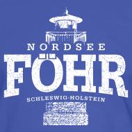 Motiv ~ Föhr Nordsee (weiss oldstyle)