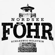 Motiv ~ Föhr Nordsee (schwarz oldstyle)