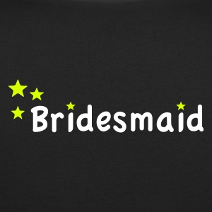 Star Bridesmaid T-shirts - T-shirt med u-ringning dam