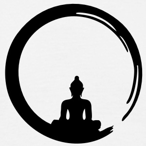 Enso, Zen, meditation, Buddha, Buddhism, Japan T-shirts - Mannen T-shirt