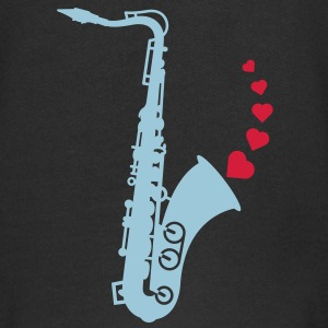 Sax and Love Hoodies - Kids' Premium Zip Hoodie