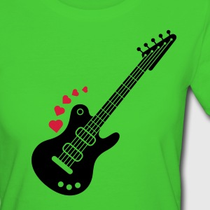 A Guitar for a Love Serenade T-Shirts - Women's Organic T-shirt