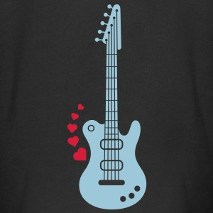 A Guitar for a Love Serenade Hoodies - Kids' Premium Zip Hoodie