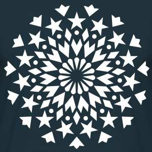 Star Flower Mandala sun   T-Shirts - Men's T-Shirt