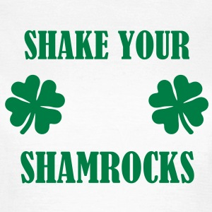 Shake your shamrocks Irish T-Shirts - Frauen T-Shirt