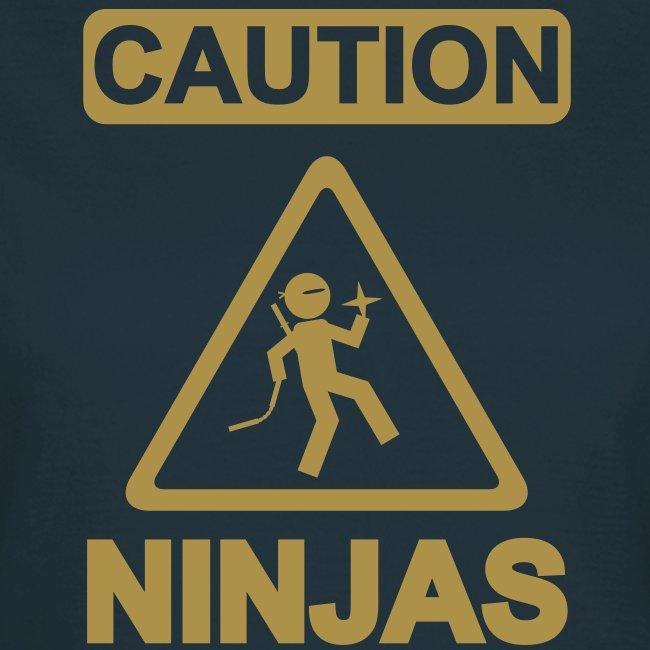Caution Ninjas