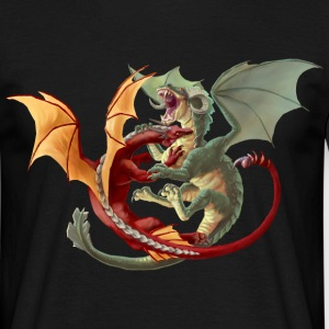 Fighting dragons T-Shirts - Männer T-Shirt