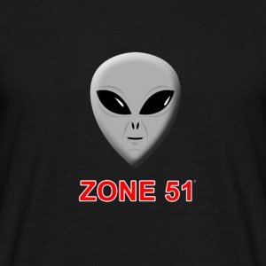 Zone 51 - T-shirt Homme