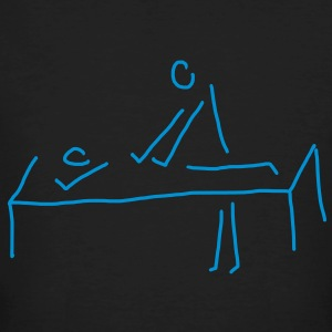 Massage Physiotherapie T-Shirt  - Männer Bio-T-Shirt
