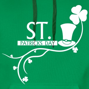 st., patricks, day, ireland, beer,dublin,cylinder - Men's Premium Hoodie