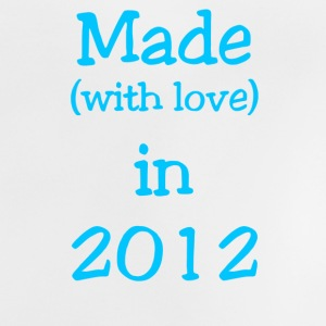 Made in 2012 Boy - Baby T-Shirt