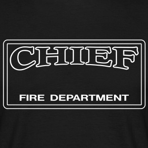 Chief - Fire Department - Männer T-Shirt