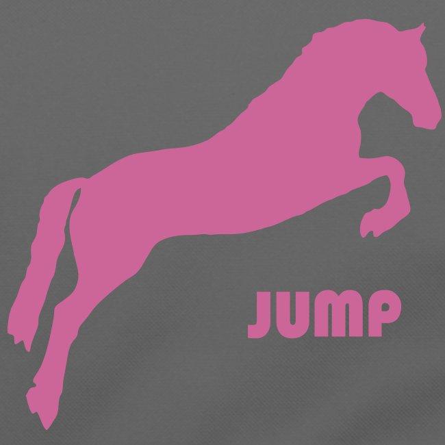 Pink Glitter Jumping Horse Bag