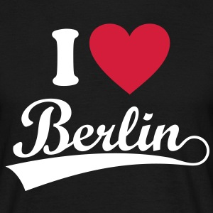 I love Berlin. *** Zoo Station Bear CapitaT-Shirts - Men's T-Shirt