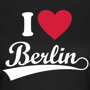 I love Berlin.   T-shirts - Dame-T-shirt