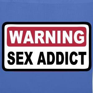 warning sex addict Bags  - Tote Bag