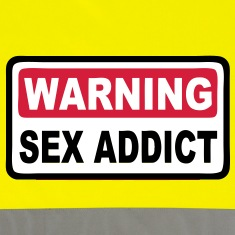 warning sex addict Jackets & Vests