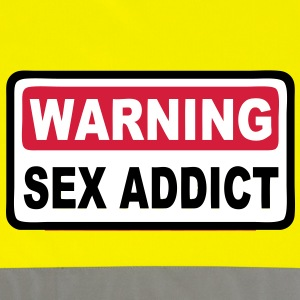 warning sex addict Jackets & Vests - Reflective Vest