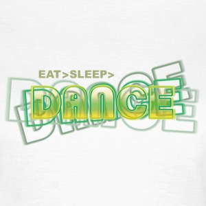 eat sleep dance | tanzshirts T-Shirts - T-skjorte for kvinner