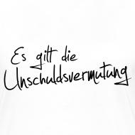 Motiv ~ Unschuldsvermutung Girlie-Shirt