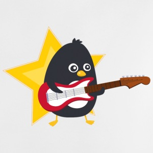 Penguin playing guitare Shirts - Baby T-Shirt