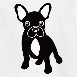 T-Shirt bouledogue français bicolore - T-shirt Enfant