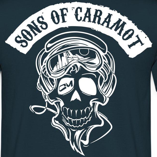 """Tee shirt Homme """"Sons of Caramot"""" Bleu"""