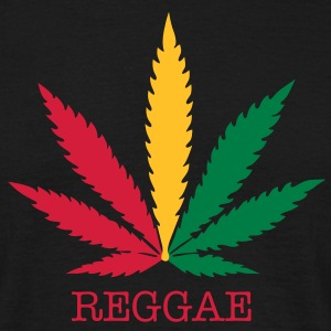 love reggae weed marijuana T-Shirts - Men's T-Shirt