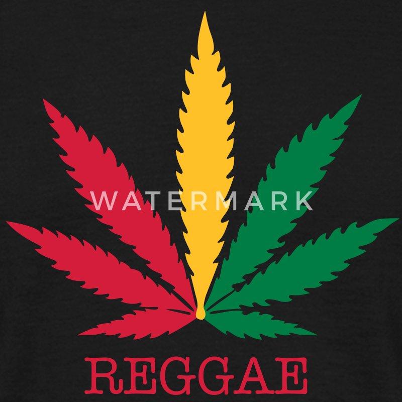 love reggae weed marijuana T-Shirts - Menu0026#39;s T-Shirt