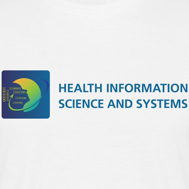 Health Information Science and Systems men's t-shirt