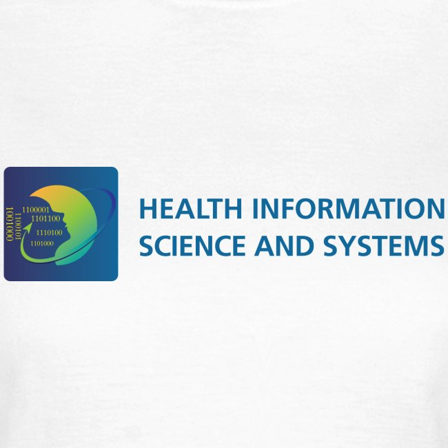Health Information Science and Systems women's t-shirt