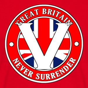 Great Britain Never Surrender-001 - Men's T-Shirt