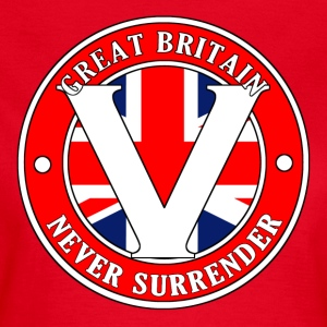 Great Britain Never Surrender-001 - Women's T-Shirt