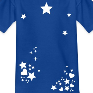 Starry night sky star sun moon circle Shirts - Kids' T-Shirt