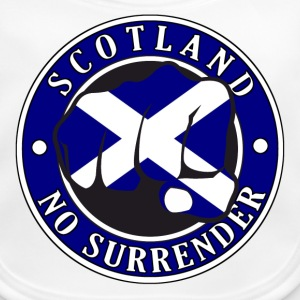 Scotland No Surrender Fist 001 - Baby Organic Bib