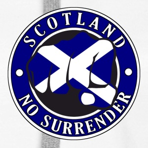 Scotland No Surrender Fist 001 - Women's Premium Hoodie