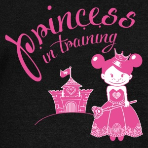 princess in training Hoodies & Sweatshirts - Women's Boat Neck Long Sleeve Top