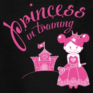 princess in training Shirts - Teenage T-shirt