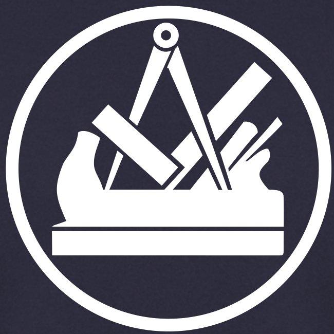 handwerker bekleidung tischlerzunftzeichen pullover f r tischler und schreiner zunftzeichen. Black Bedroom Furniture Sets. Home Design Ideas