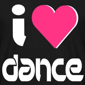 I Heart Dance T-skjorter - T-skjorte for menn
