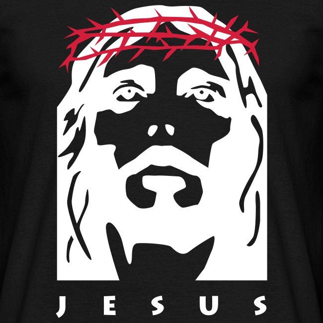 Jesus t-skjorte svart