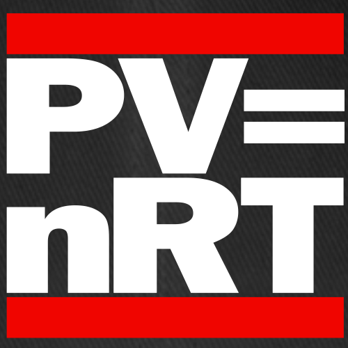 Hip-Hop-style: PV = nRT (ideal gas equation)