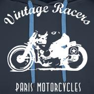 Motif ~ Classic Rider Navy Hoodie