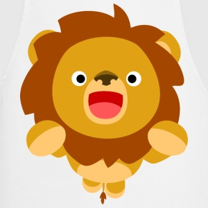 Hi! Cute Playful Cartoon Lion Cheerful Madness!!  Aprons - Cooking Apron