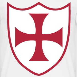 templar cross 2 T-Shirts - Men's T-Shirt