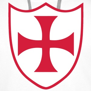 templar cross 2 Hoodies & Sweatshirts - Men's Premium Hoodie